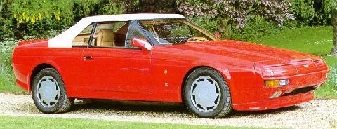 Aston Martin Zagato Volante   Red   Top Up (1988)