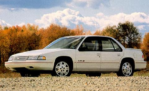 Chevrolet Lumina Euro 3,4 Sedan White  Fvl Max  (1992)