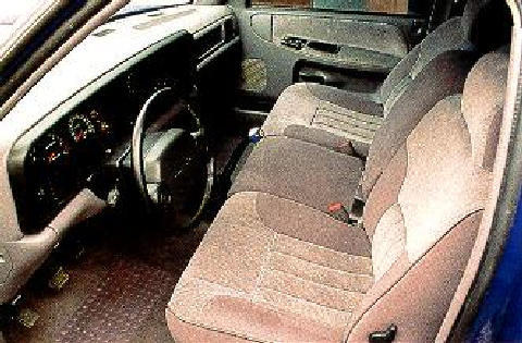 Dodge Ram Vts Prototype Stock Interior Max  (1995)