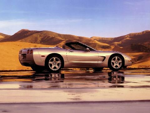 Chevrolet Corvette Convertible, Tan 1024x768 (1999)