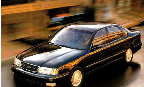Toyota Avalon Xls Sedan Black  Fvltop Max  (1999)