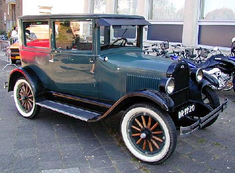 Chevrolet Superior Series F 2 Door Sedan 1924 F3q
