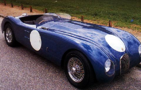 Race1951 Jaguar Xk 120 Type C Roadster