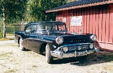Buick Series 40 Special 4d Sedan, Black (1957)