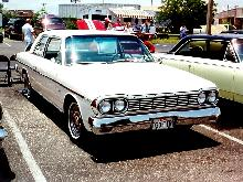 AMC Rambler 660 Sedan White Fvr (1964)