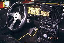 Lancia Delta HF Integrale Evolution II Interior1 (1994)