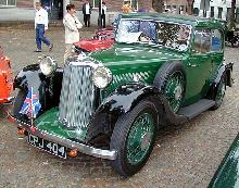 Armstrong Siddeley 17 Hp Sports Foursome 1935 Front three quarter view
