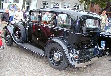 Armstrong Siddeley 20/25 1936 Rear three quarter view