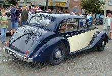 Armstrong Siddeley Whitley Six Light Saloon 1953 Rear three quarter view