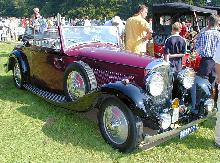 Bentley 3,5 Litre Convertible 1935