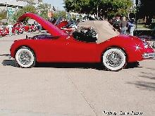 Jaguar 1957 Xk140 Roadster Red 2