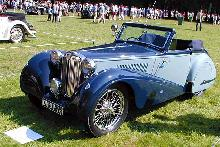 MG TA Drophead Coupe Park Ward 1936
