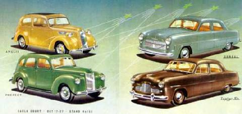 Ford Of England Range From Earls Court Advert (1952)