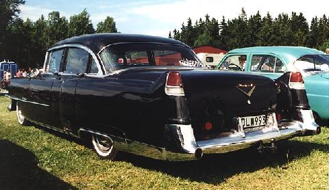Cadillac Fleetwood Rear (1954)