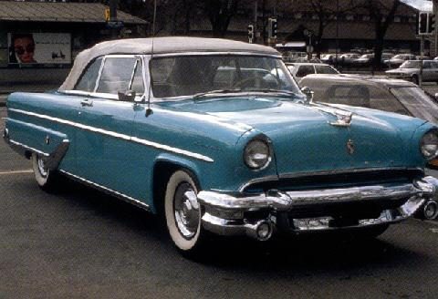 Lincoln Capri Convertible (1955)