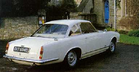 Gordon Keeble Coupe, Rv (1964)