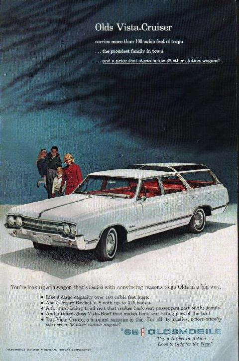 Oldsmobile Vista Cruiser (1965)