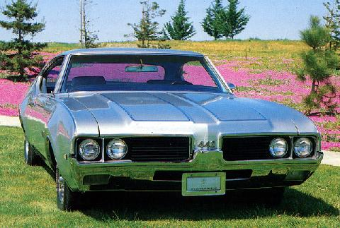 Oldsmobile 442 Holiday Coupe (1969)