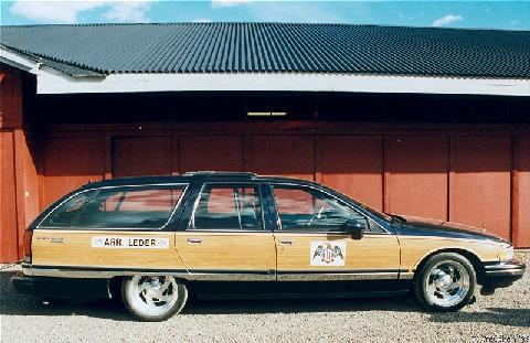 Buick Roadmaster Estate Wagon Accn, Side (1992)