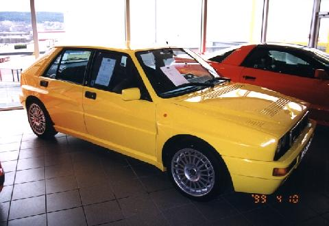 Lancia Delta HF Integrale Evolution II Side (1994)
