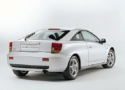 2000 Toyota Celica  Rear view
