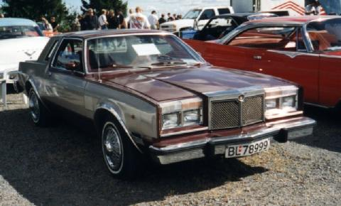 Chrysler Lebaron Ls Coupe 1980 Picture Gallery Motorbase