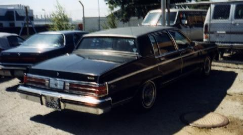 Std Buick Electra Park Avenue Rv