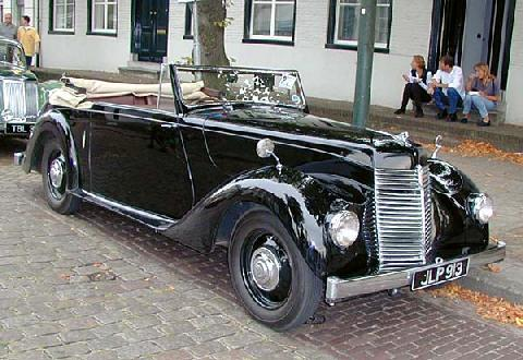 Armstrong Siddeley Hurricane 1947 Front three quarter view