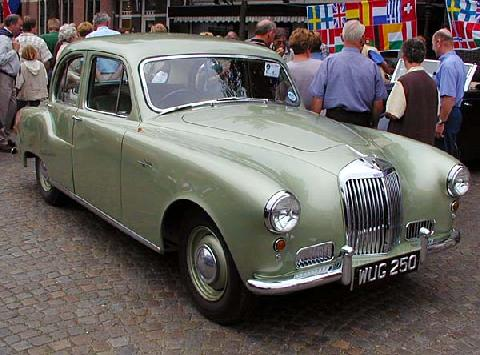 Armstrong Siddeley Sapphire 236 1955 Front three quarter view