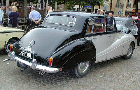 Armstrong Siddeley Star Sapphire 1959 Rear three quarter view
