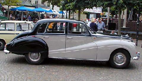 Armstrong Siddeley Star Sapphire 1959 Side