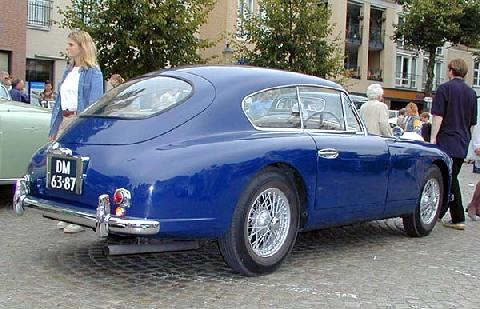 Aston Martin DB2/4 Mk II 1955 Rear three quarter view