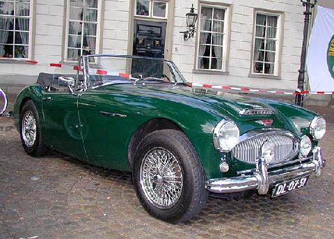 Austin Healy 3000 Mk III 1965 Front three quarter view