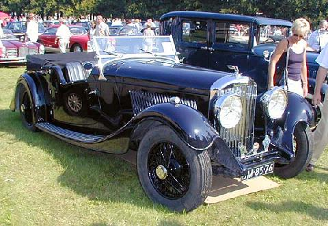 1933 bentley convertible