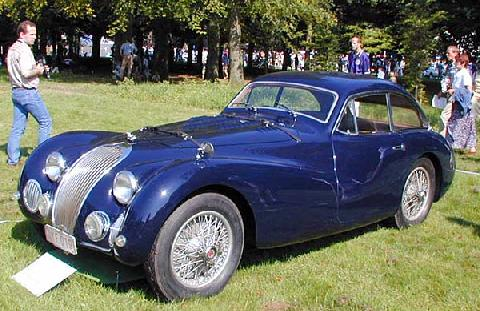 Talbot Lago 26 Gs Le Mans Contamin 1948 Front three-quarter view