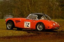 Austin Healey 100/6 Rally In Skid (1956)