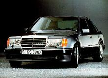Mercedes Benz 500e Sedan  Front view (1991)