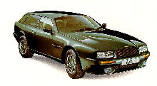 Aston Martin Virage Shooting Brake Green  Front view (1992)