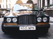 London 1999. 1995 Bentley Azure, Green, Front 1024x768