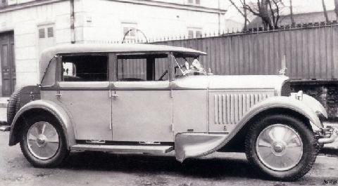 Voisin Type C 14 Berline By Antem (1929)