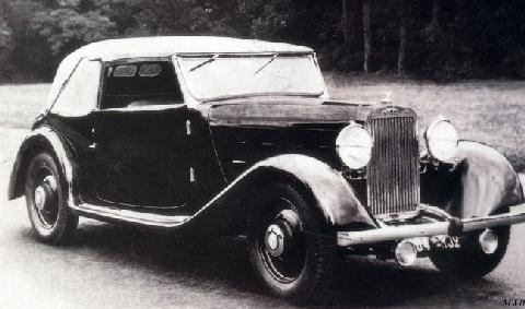Aries Super 10 50 Cabriolet By Antem (1934)