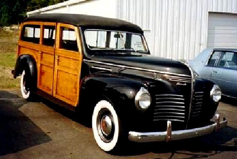 Plymouth P 10 Deluxe Woody Wagonsteve(1940)