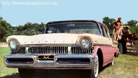 Mercury Montclair Phaeton Sedan Fvrd (1957)
