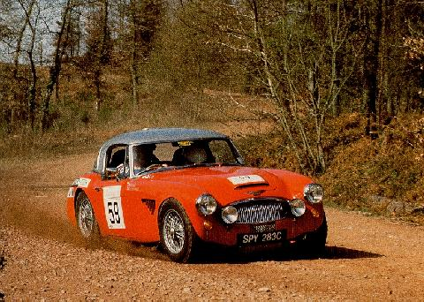 Austin Healey 3000 Rally Car  Fvr Cornering Redmax (1960)