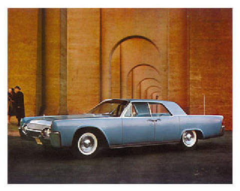 Lincoln Continental Sedan Bluerd (1961)