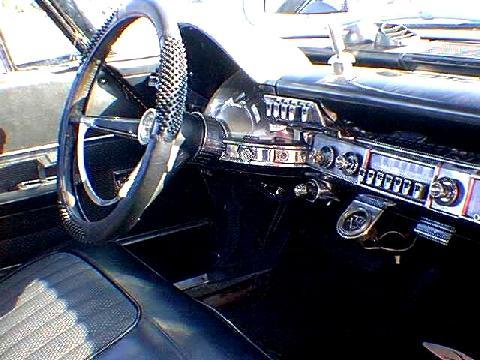 Chrysler 300 Hardtop Dash Blacktimouth 1962 Picture