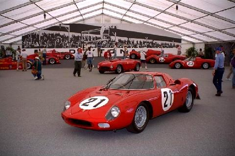 Ferrari 250 Lm At Monterey 1 (1965)