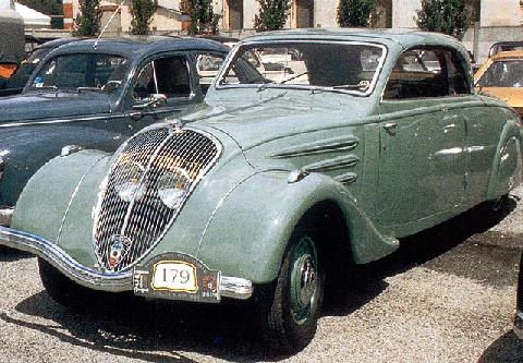 Peugeot 402 Eclipse Retractable (1937)