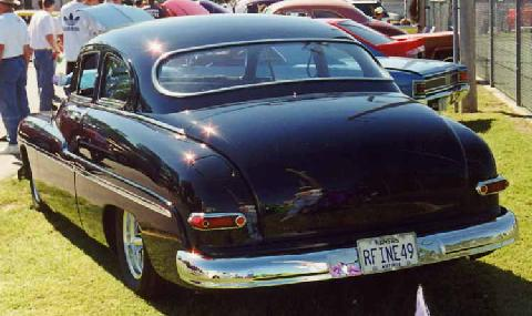 Merc Coupe Sled Rear (1949)