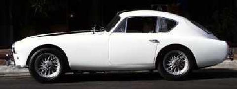 AC Aceca coupe White (1960)